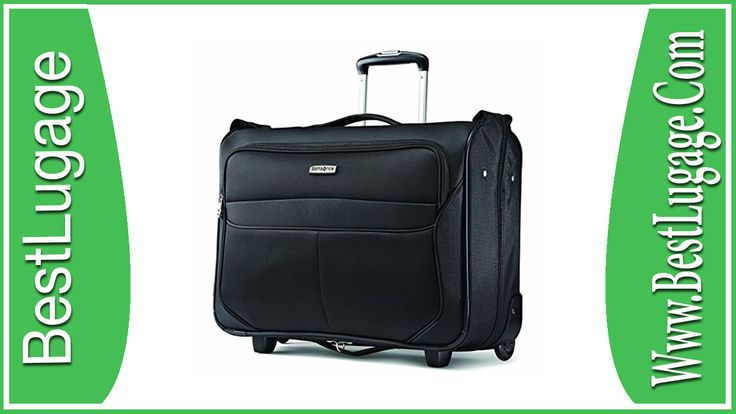 Samsonite Luggage Lift Carry On Wheeled Garment Bag Review - BestLugage