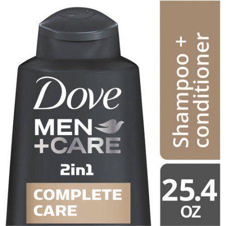 Dove Men+Care Complete Care 2 in 1 Shampoo and Conditioner, 25.4 oz