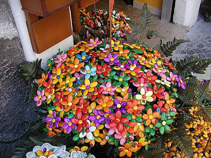 Italian Jordan Almond Flowers
