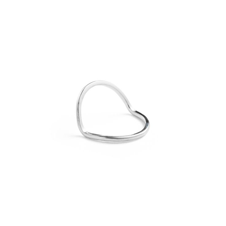 Bent Ring - Sterling Silver / Free Series