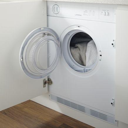 Lamona 6kg integrated tumble dryer