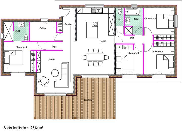 132 best Plan maison images on Pinterest Dream home plans, Future