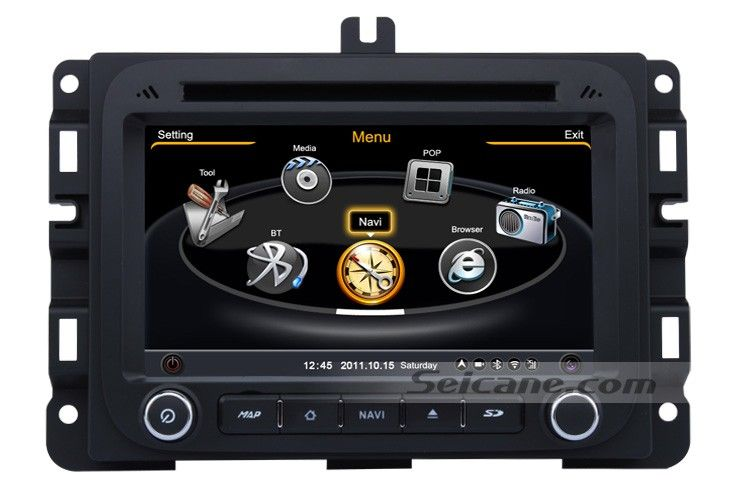 2013 2014 2015 DODGE RAM 1500 2500 3500 4500 Replacement Stereo System GPS Radio Navigation 3G WiFi DVD Bluetooth Ipod Iphone USB SD