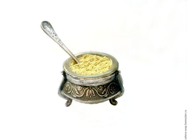 Купить Сухая пудра для умывания «ШАТАВАРИ и НИМ» - натуральная косметика, пудра для умывания, эко косметека