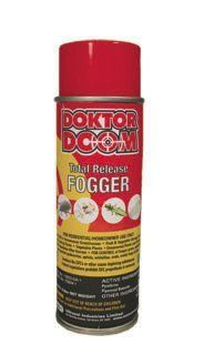 Doktor Doom DDTRF5-1/2OZ 5-1/2-Ounce  total Release Fogger by Hydrofarm. $13.24. Total Release Foggers can be set and will release entire container contents. Proven mite control formula that leaves no residue. 5-1/2-ounce. Great for use in greenhouses, fruit and vegetable storage areas, and indoor gardening areas. Controls fungus gnats, spider mites, two-spotted spider mites, aphids, whiteflies, scale, mealy bugs and thrips. Total Release Foggers are for use in greenho...