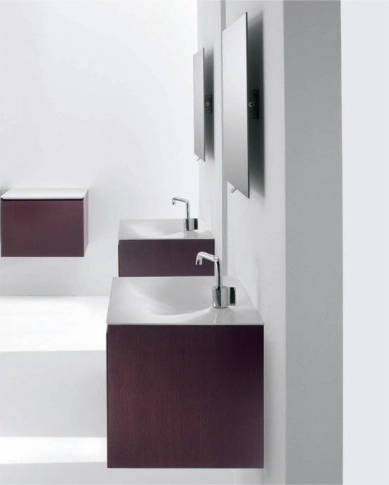 Schön Minimalist Functional Bathroom Furniture   Flow And Soft From Cosmic