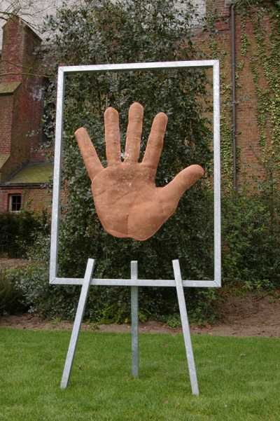 Bronzemesh outsize very big extra large massive for Big hands for gardening
