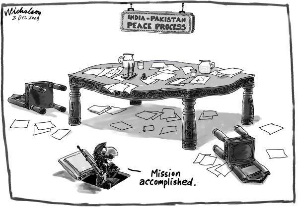 Political cartoons pakistan - Pakistan Political Cartoon Of The Day