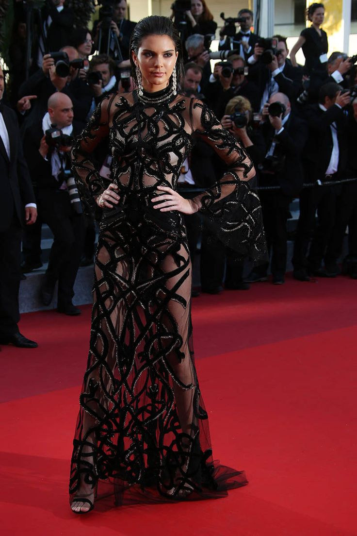 Kendall Jenner in Cavalli - Cannes 2016