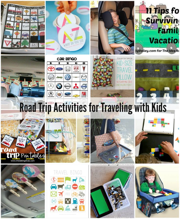 Road Trip Activities: Traveling with Kids - The Idea Room