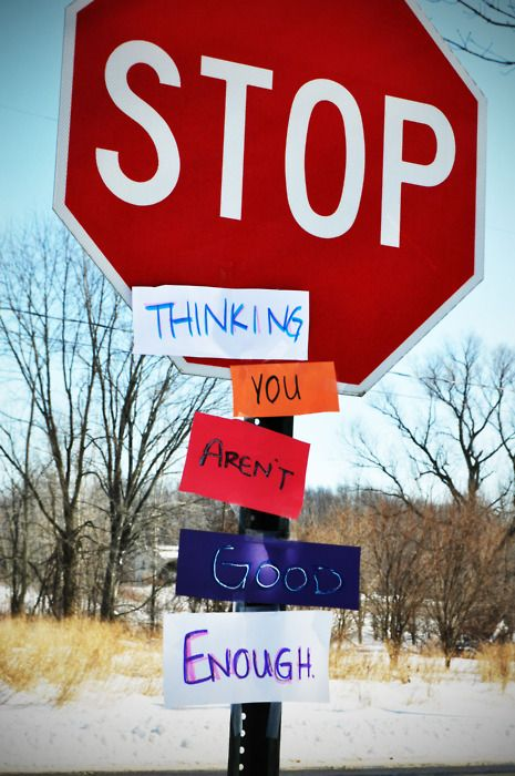 stop.: Signs Quote, Daily Reminder, Remember This, Motivation Quotes, Daily Motivation, Positive Thoughts, Stop Signs, Body Positive, New Years