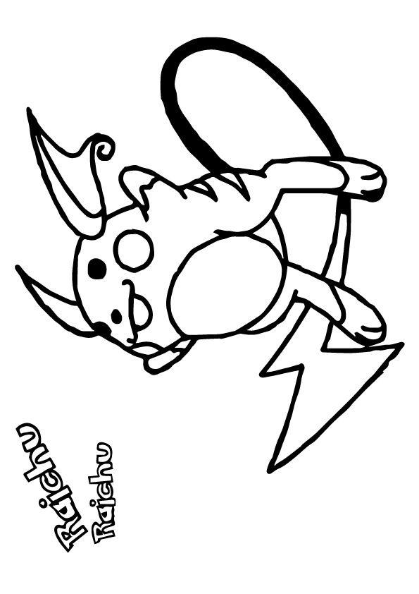 Print Coloring Image Momjunction Pokemon Coloring Pokemon Coloring Pages Pikachu Coloring Page