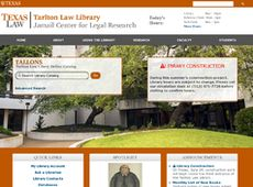 Tartlon Law Library, pretty and simple