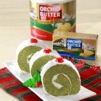 GREENTEA COCONUT ROLL CAKE http://www.sajiansedap.com/mobile/detail/17472/greentea-coconut-roll-cake