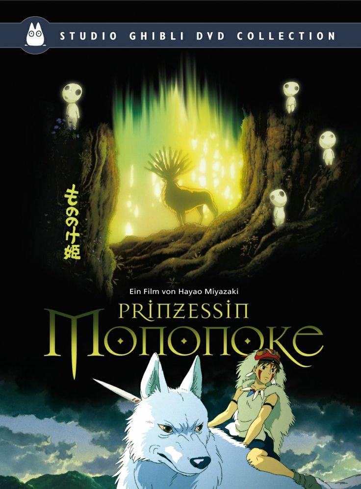 """""""La princesa Mononoke"""" de Hayao Miyazaki. En el siglo XV, el bosque japonés, protegido en otro tiempo por animales gigantes, está siendo asolado por culpa de los humanos. Un jabalí transformado en un demonio destructor ataca de repente el pueblo de Ashitaka, futuro jefe del clan Emishi. Herido por el jabalí al que ha matado, Ashitaka se ve obligado a partir en busca del dios Ciervo para que levante la maldición que le ha gangrenado el brazo."""