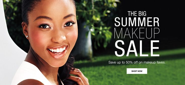 The Summer Make Up Sale starts TODAY 6/1/16.  Save up to 50% OFF on Make Up Faves.  This offer expires on 6/2/16. #SummerSale #Makeup #NailPolish #Eyeliner #Lipstick