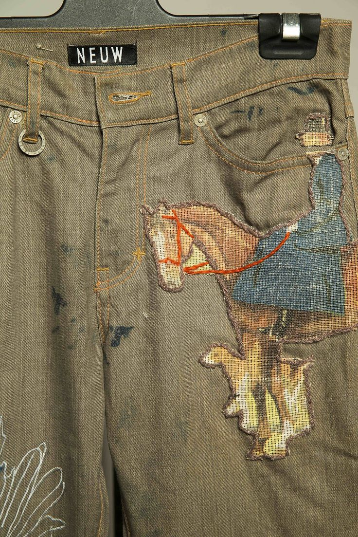 Neuw jeans painted  by Dan Vient   The Art of Denim  is an ever growing concept that grew out of our Piping Down The Valleys Wild denim s...