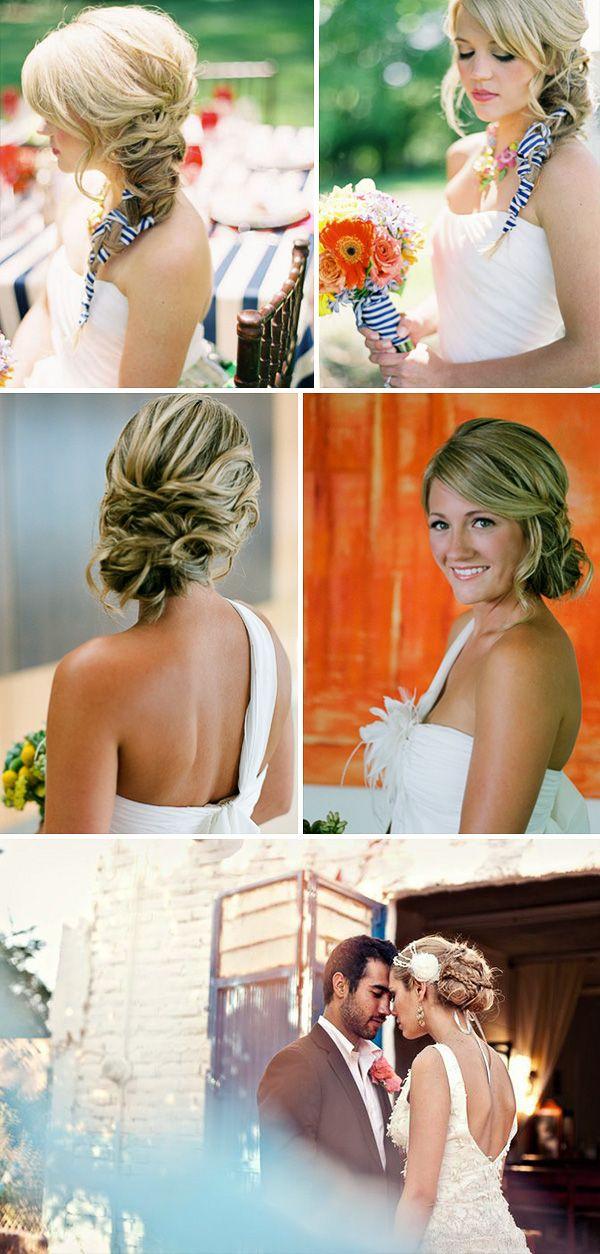 прическа невесты косы #hair #style #wedding