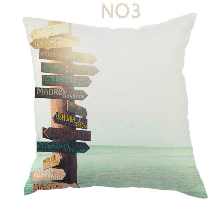 Shop | Beautiful Beach Style Throw Pillows Case | $$14.40 | Unique Home Decor