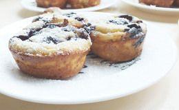 Pannenkoek muffins met zoete en hartige vulling