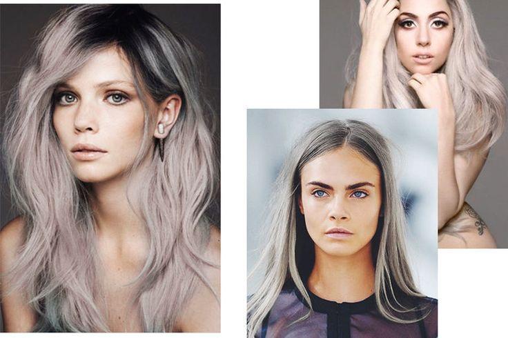 grått hår hårfarge hårfrisyre kjendiser grannyhair