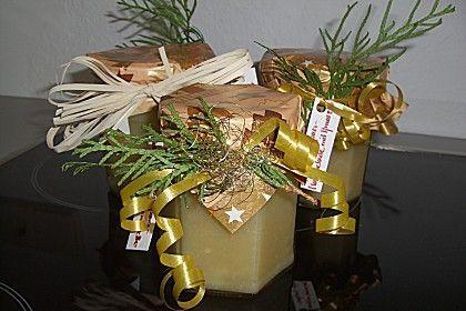 Apfel - Marzipan - Marmelade mit Amaretto