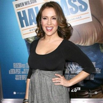 Pregnant Celebrities - Alyssa Milano Has a New Baby Girl, Elizabella Dylan Bugliari