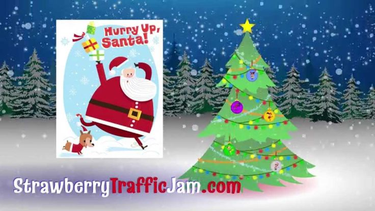 Brain Break!  Hurry Up, Santa! song by Strawberry Traffic Jam