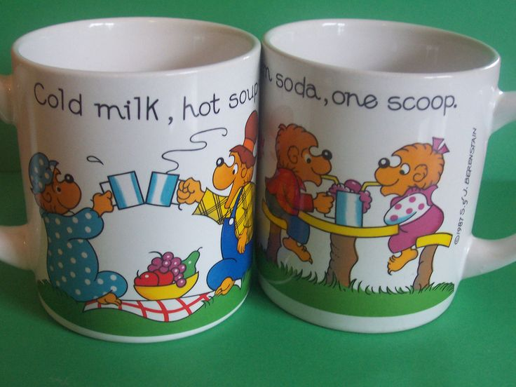 Do you remember these mugs?