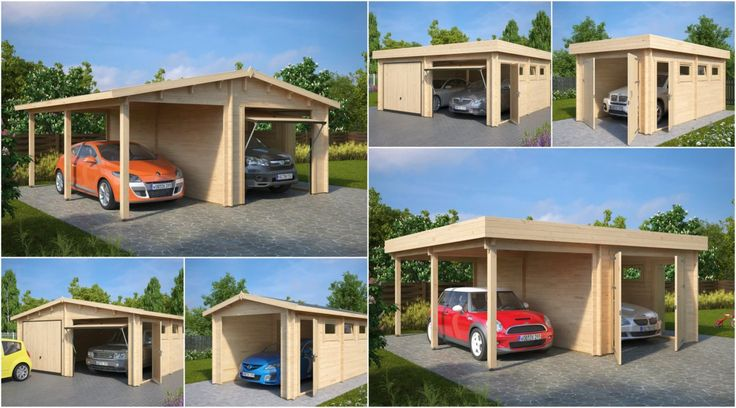 die besten 25 holzgarage ideen auf pinterest carport entw rfe carport abdeckungen und. Black Bedroom Furniture Sets. Home Design Ideas