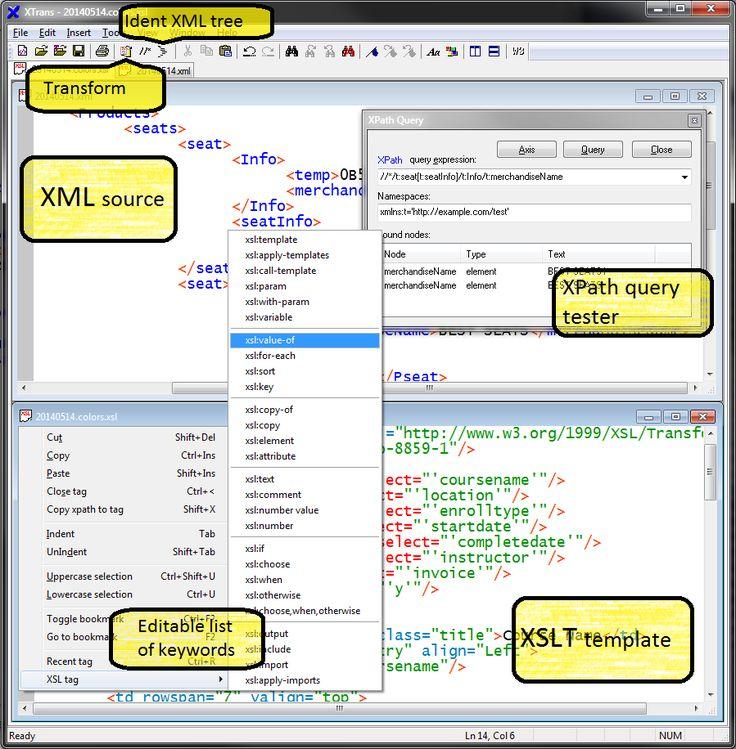 Descargar gratis XML Copy Editor: Un editor de archivos XML | Banana ...
