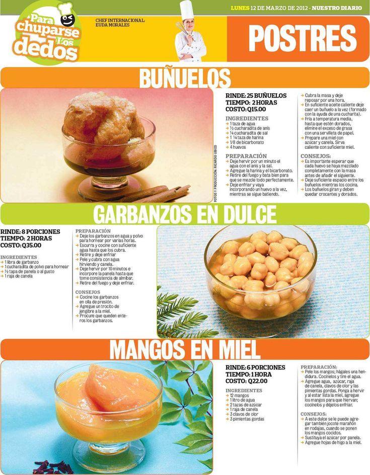 Buñuelos   Ingredientes   1 taza agua   ½ cucharadita anís   ¼ cucharadita sal   1  ¼ taza harina   1/8 bicarbonato   4 huevos    ...