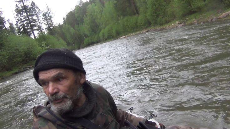 Выживание в тайге Сплав по порогам таежной речке Охота Рыбалка Тайга