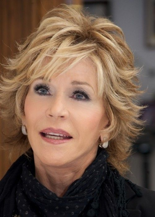 Flippy short hair has lots of sass and attitude; Jane Fonda's shaggy version can be worn either smooth or flipped so it makes it really versatile.