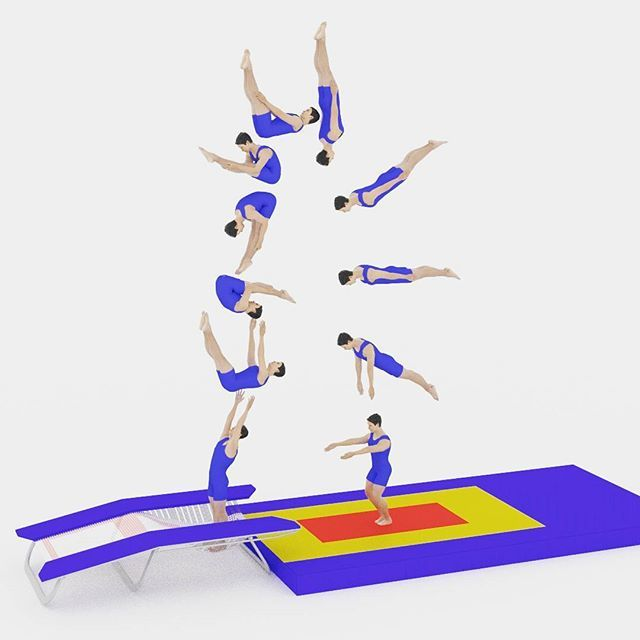 Double Back Somersault Pike on the #doublemini #trampoline  Can you do it?  FOLLOW @doublemini_dot_net for more  #gymnastique #gymnastics #gym #trampette #tumbling #acrobatic #gymnasticsshoutouts #doubleback #double #backflip #dismount #trampolin #trampolinturnen #turnen
