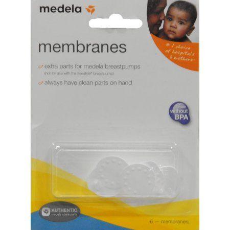 Medela Membranes Replacement, 6 ct, Beige