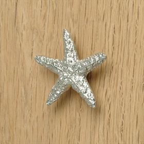 starfish bathroom cupboard door handles small drawer pulls uk made pewter cabinet door