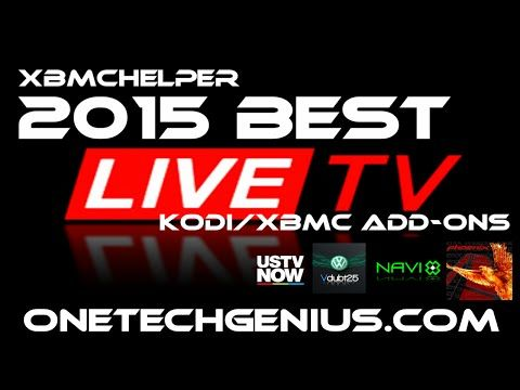 2015 XBMC/KODI 5 BEST ADD-ONS FOR LIVE TV, SPORTS & PPV - YouTube
