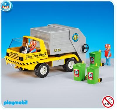 Playmobil  7516 Camion poubelle et éboueurs  22,66 €
