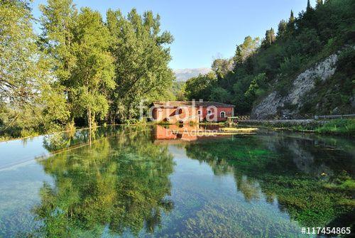 Antico mulino ad acqua di Posta Fibreno - Frosinone - Lazio