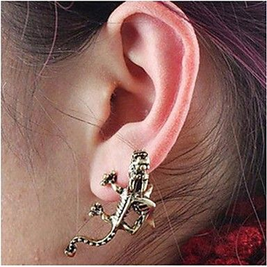 ITS A MINIATURE ONE!!!!!!!!!!!!!!!!! XD <3 XD <3 XD <3 Dragon Earrings Tide Restoring Ancient Ways Stud Fashion Personality – USD $ 1.99