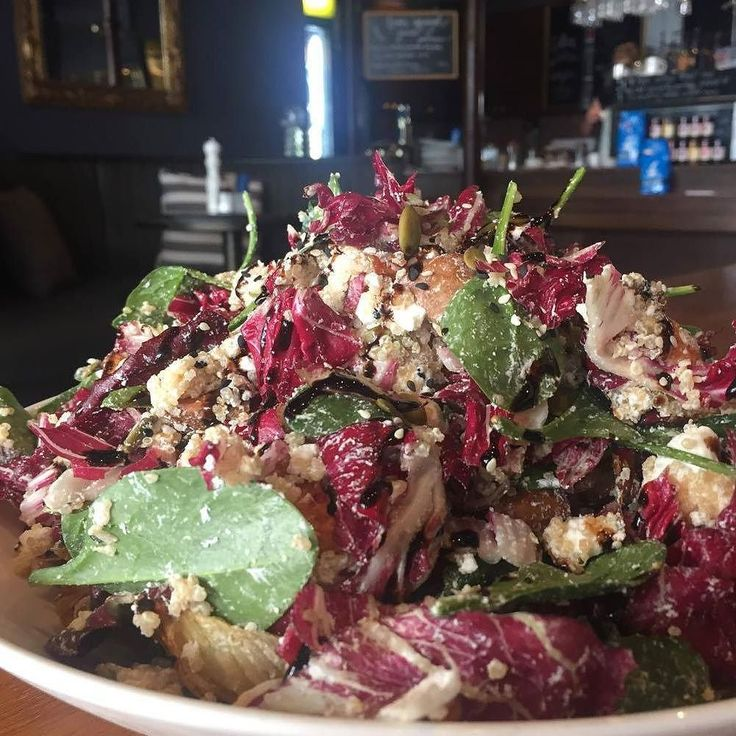 Our chef Nat makes a mean salad! Our Nourishing winter salads are made fresh everyday with fresh seasonal produce. Good for your body and soul!