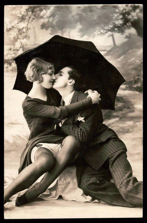 Erotic couples artwork postcards variant