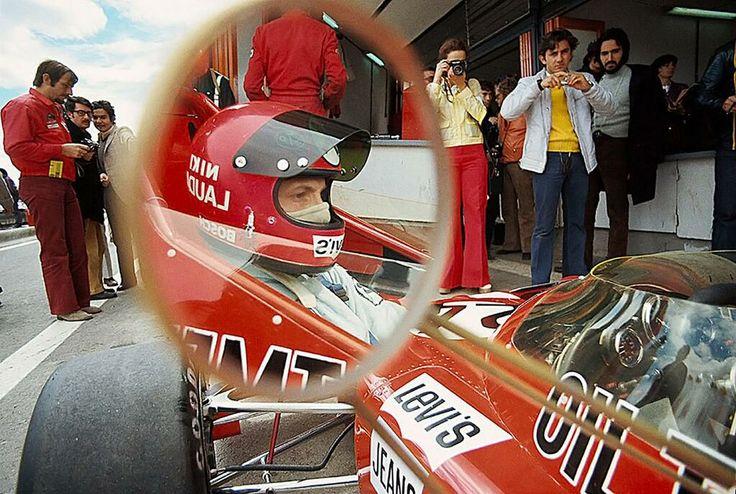 Niki Lauda March 721 Ford GP España (El Jarama) 1972