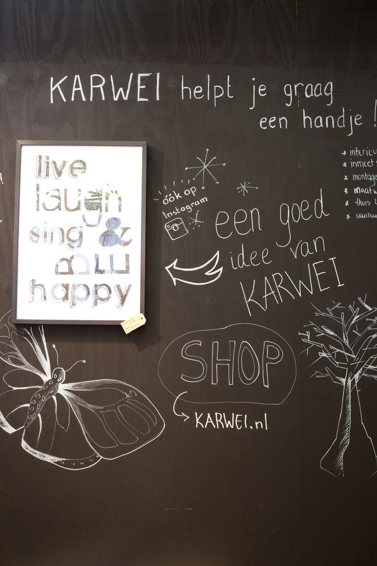 KARWEI | Schoolbordverf! #woonbeurs #karwei #inspiratie