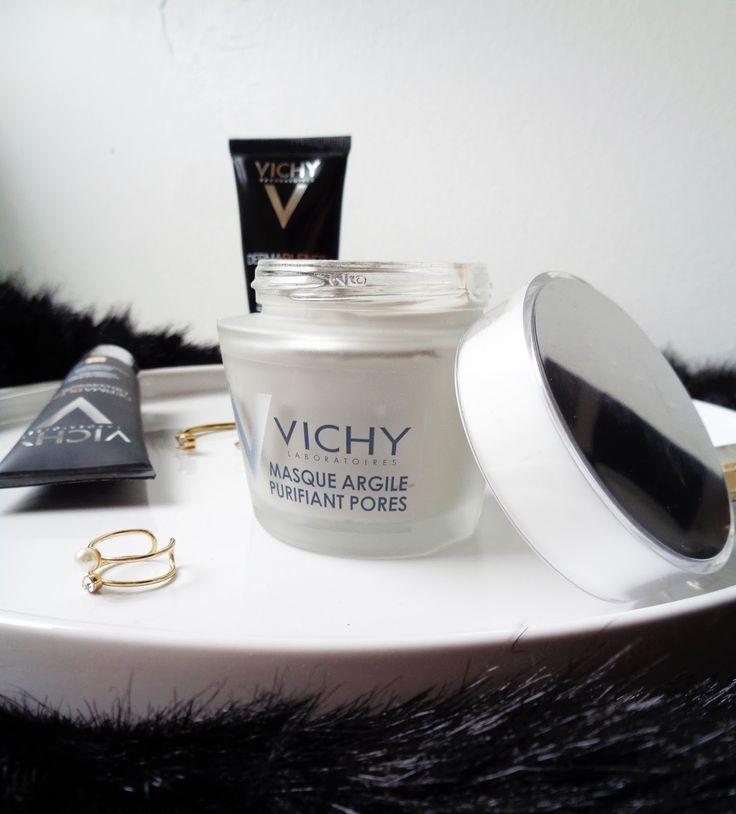 Masque argile purifiant pores de Vichy - Revue, avis blog beauté
