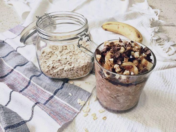 Ένα νόστιμο (και vegan) εναλλακτικό πρωινό, που μπορείς να έχεις έτοιμο από το βράδυ