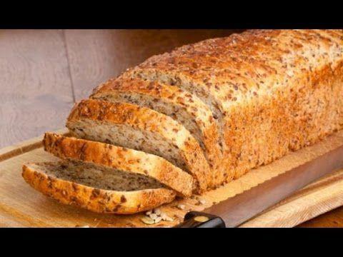Receita: Como Fazer Pão Linhaça (Low Carb, Paleo, Keto, Sem Glúten) - YouTube