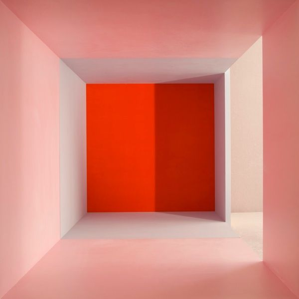 Erin O'Keefe, Empty - Pink Grey Red Side Light Shadow, 2011