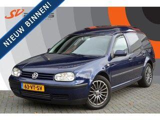 Volkswagen GOLF Variant 1.9 TDI Automaat VAN Grijs kenteken Youngtimer/Cruise/Trekhaak, bedrijfswagen, bj 2001 op Nederland Mobiel